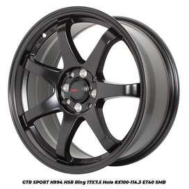 GTR SPORT 994 HSR R17X75 H8X100-114,3 ET40 SMB