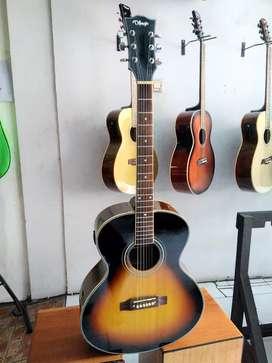 Gitar akustik elektrik difergio