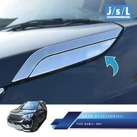 "Side Bonnet Trim Chrome Mobil : BR-V""Kikim-Variasi"""