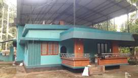 Independent house(2 BHK) with compound wall for rent on bus root.