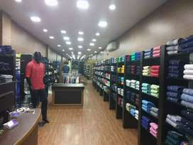 Menswear Textile Showroom for sale