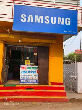 Phone shop for sale with computer,counter and ACs