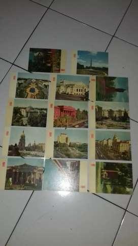 Kartu pos kuno antik ukraina uni soviet 1960 an