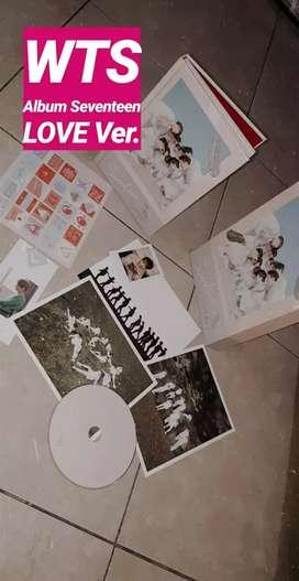 ALBUM SEVENTEEN LOVE VERSION