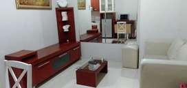 Disewakan Apartemen Cosmo Residence 1BR Full Furnished Low Floor