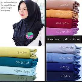 Jilbab blouse rempel
