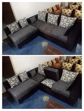 Sofa L JABODETABEK! READY STOCK ! cuss diorder ! Kualitas terbaik
