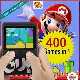 GAME BOX SUP NINTENDO RETRO MINI BLACK 400 GAMES