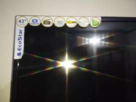 Ecostar led used of 43 inch 1year used