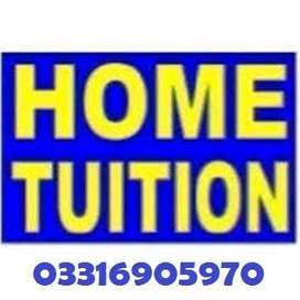 We require male/female teachers for home tuition in Rwp/ISD