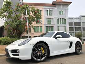 CAYMAN  2.7 2013/2014 Atpm White  On Black