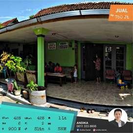 Rumah Super Luas Ready Huni di Tengah Kota Jember