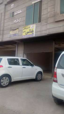 Shop for rent in johar town neat and clean area