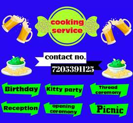 Cook available for all types of parties and events