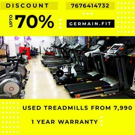 USED MOTORISED TREADMILLs 7,990 onward 1 YEAR WARRANTY 20 Models Fitne