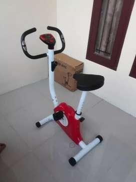 Free ongkir...sepeda statis belt fitnes 8215