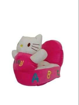 PRELOVED Boneka Sofa Kursi Karakter Hello Kitty Pink Fanta Berkualitas