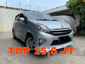 Toyota Agya Matic 1.0 TRD S 2014 Silver   KM 80RB