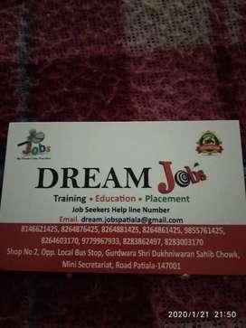 40 IELTS trainer required for Ambala, Rajpura, Patiala, Bhavnigarh