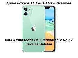 Apple iPhone 11 (128GB) Green [ Bsa Cicilan Hanya KTP+SIM ]