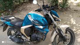 Sell my new condition bike FZs only 85000