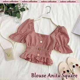 Baju Y6 - Anita kotak 3warna