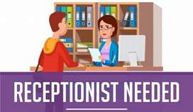 Need a lady receptionist for dental clinic