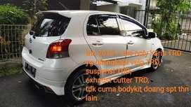 Yaris TRD Sportivo th 2010 the only Yaris dgn velg TRD n suspensi TRD