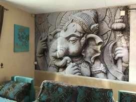 Wall wallpaper