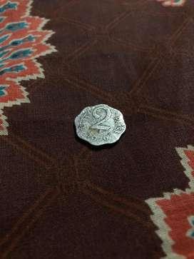 2 paise coin