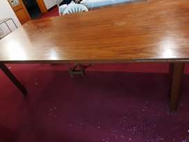 Table solid wood