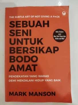 """Buku Motivasi """"SEBUAH SENI UNTUK BERSIKAP BODO AMAT"""""""