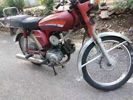 office used Yamaha 100cc 2stok punjab number  exchange possible 24000