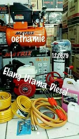 1 sett perlengkapan cuci steam motor