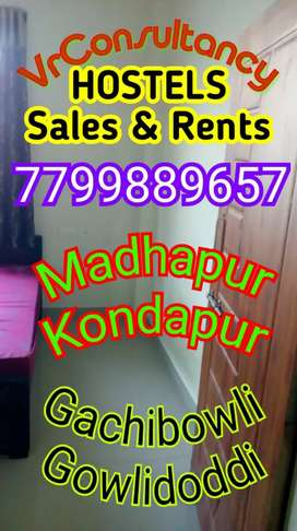 Running Men's PG Hostel Sale in Madhapur