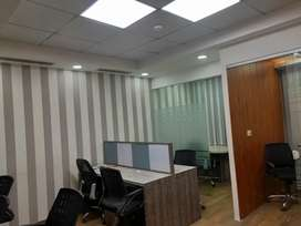 A lavish office with 10 seats & cabin in I Thum, Noida