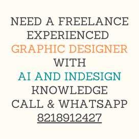 Experienced Freelance Graphic Designer