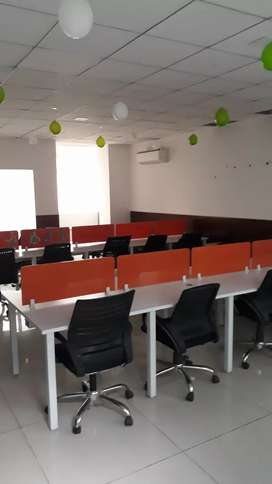 3 cabins 25 workstations new office in noida sec 63