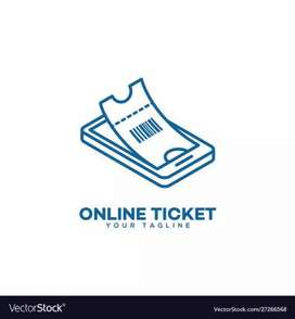 Tickets available Train & Airline