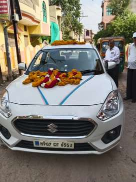 Swift dzire traveling and booking open Gwalior Madhya Pradesh