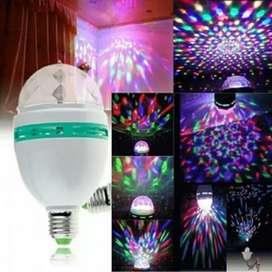 Lampu bohlam disco cahaya warna-warni mitsuyama MS-300