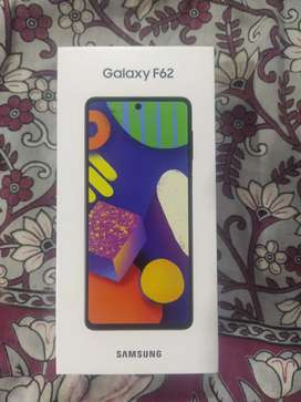 Samsung Galaxy F62 6gb 128gb new seal peck