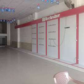 Hall/showroom for rent