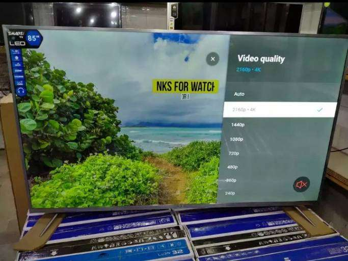 NEW 65 INCH SMART LED TV 1 YEAR WARRANTY 0