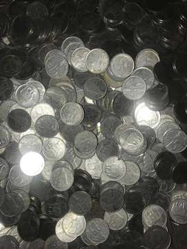 25p coins lot of 500 silver coins for just ₹399
