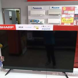 Tv sharp 50IN lagi diskon