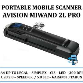 PORTABLE MOBILE SCANNER AVISION MIWAND 2L PRO