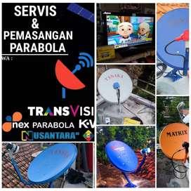 Promo pasang baru&servis parabola spesial awal tahun kota porong