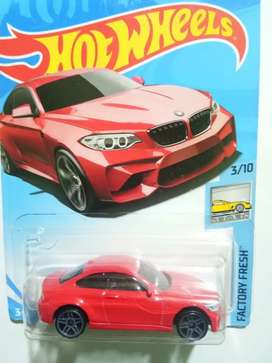 Premium Diecast Hotwheels BMW M2 Merah Euuyy