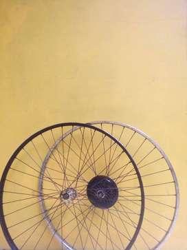 Velg sepeda ukuran 27 (fullset)